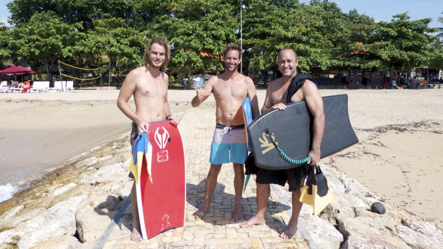 Eppo and the Bali Bodyboarding Team